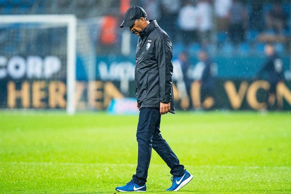 Robin Dutts Amtszeit beim VfL Bochum endet nach eineinhalb Jahren.