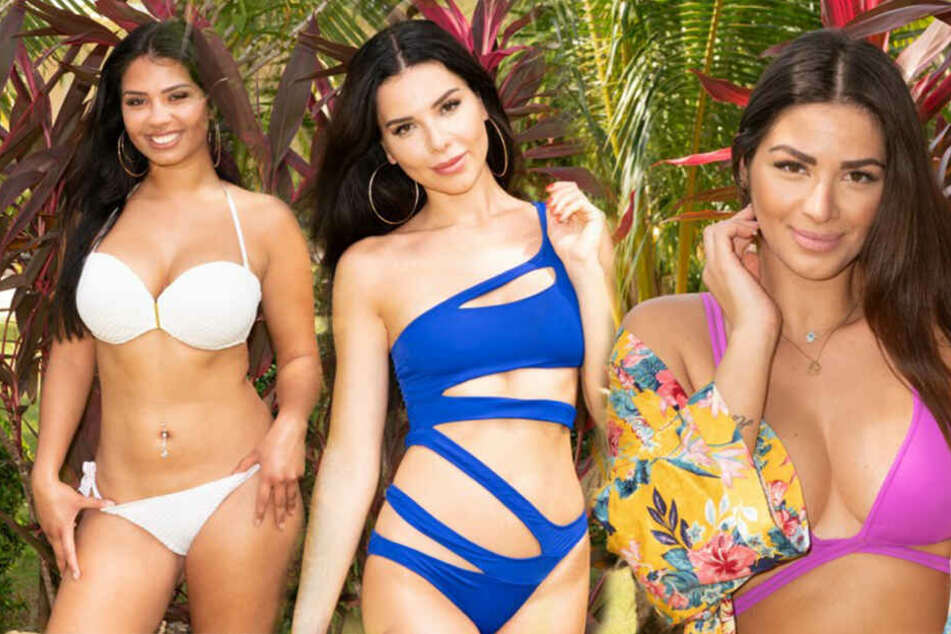 Die Single-Ladys: Nicole, Maryana und Patrizia (v.li.).