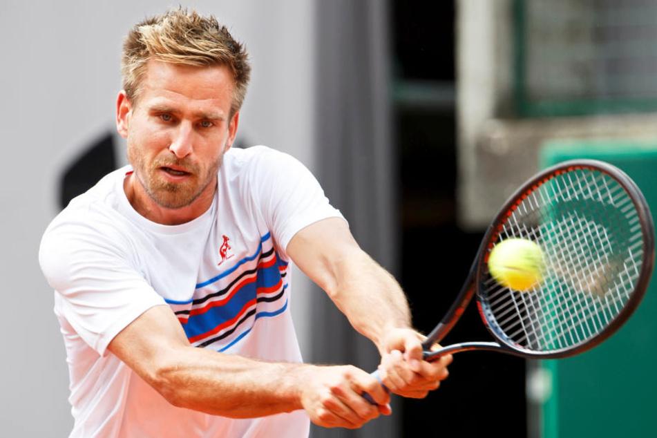 Peter Gojowczyk musste aus gesundheitlichen Gründen die Teilnahme bei den Gerry Weber Open absagen.