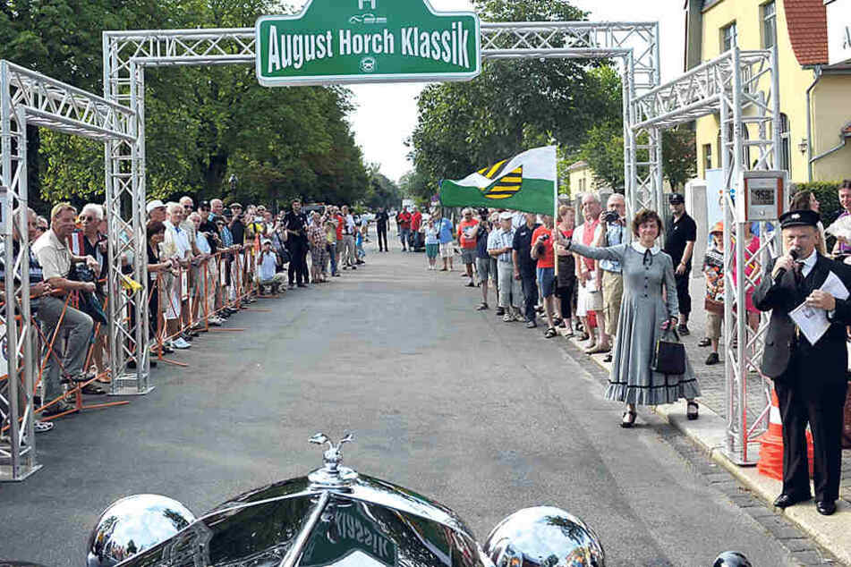 Die August-Horch-Rallye ist ein  Stelldichein großartiger automobiler Glanzstücke. Allein 75 Vorkriegsfahrzeuge  haben zugesagt.