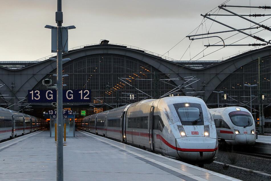 Auch die Strecke zwischen Leipzig und Dresden wird seit vergangenem Jahr ausgebaut. (Symbolbild)