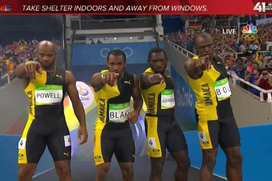 Der TV-Sender warnte unabsichtlich vor den Jamaikanern.
