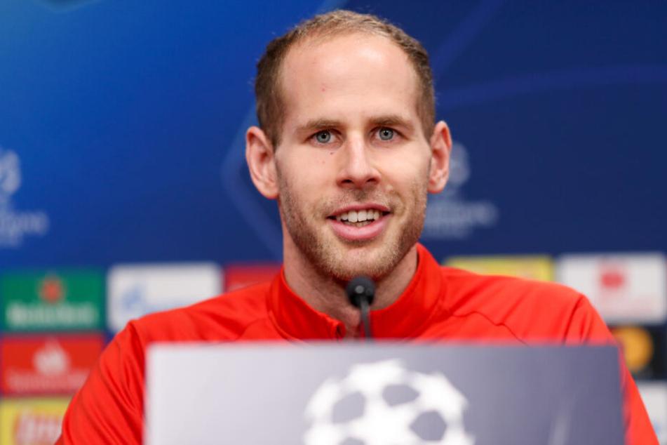 """""""Ich sehe keine dramatische Situation"""", betonte Keeper Peter Gulacsi bezüglich des aktuellen Stands in der Bundesliga."""