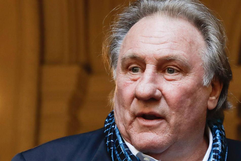 22-Jährige vergewaltigt? Polizei ermittelt gegen Gerard Depardieu