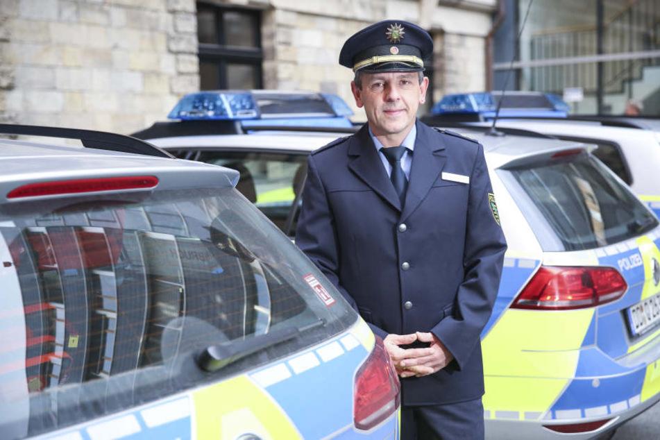 Revier Mitte: Das ist Dresdens neuer City-Sheriff