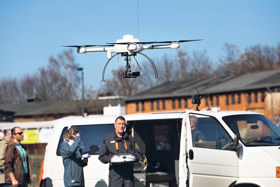 Montagnachmittag suchte die Polizei per Drohne nach dem Schüler.