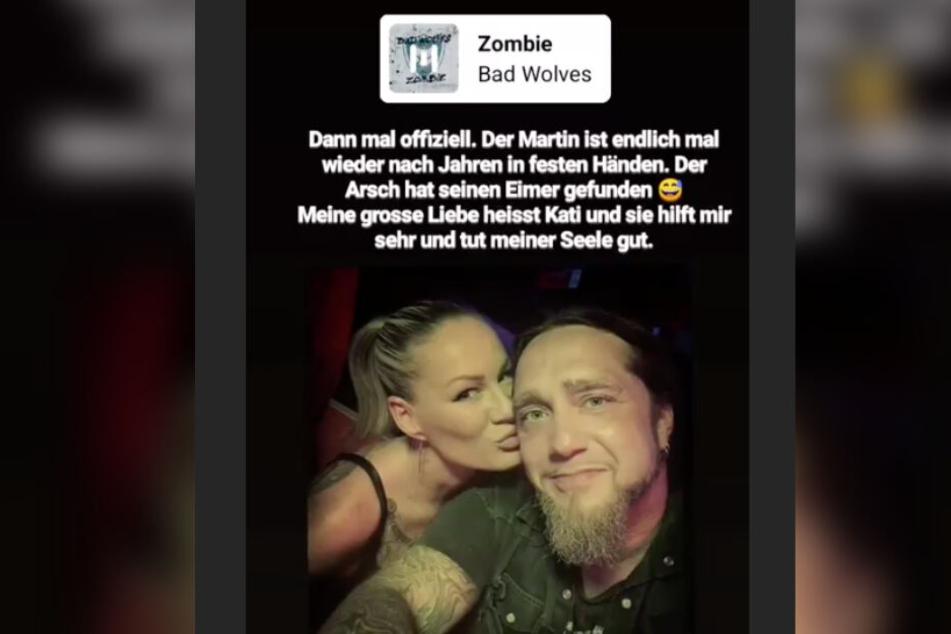 Liebes-Geständnis auf Instagram: Kati heißt die neue Liebe von Martin Kesici.