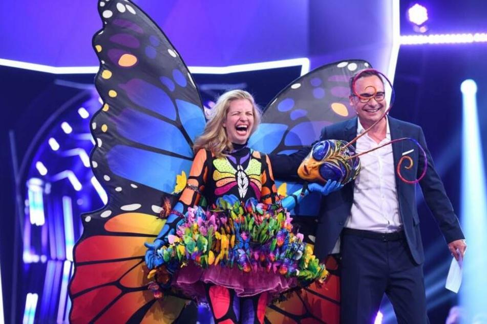 Mit Susan Sideropoulos als Schmetterling hatte niemand gerechnet.