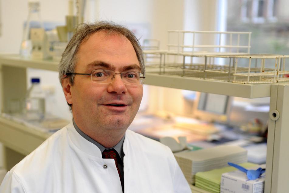 Der Kieler Virologe Helmut Fickenscher.