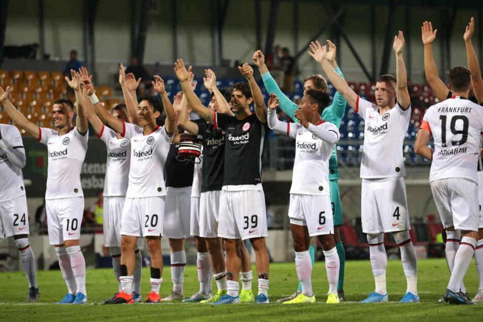 Das Hinspiel in Vaduz gewann die Eintracht mit 5:0.