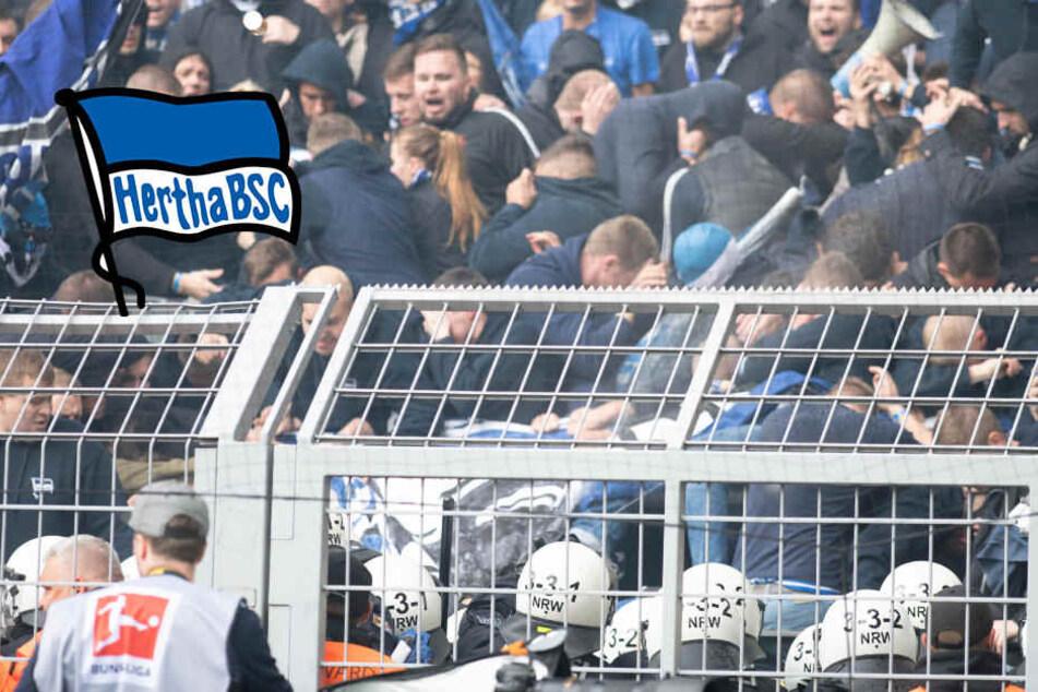 Randale in Dortmund: Polizisten mit Kloschüsseln angegriffen