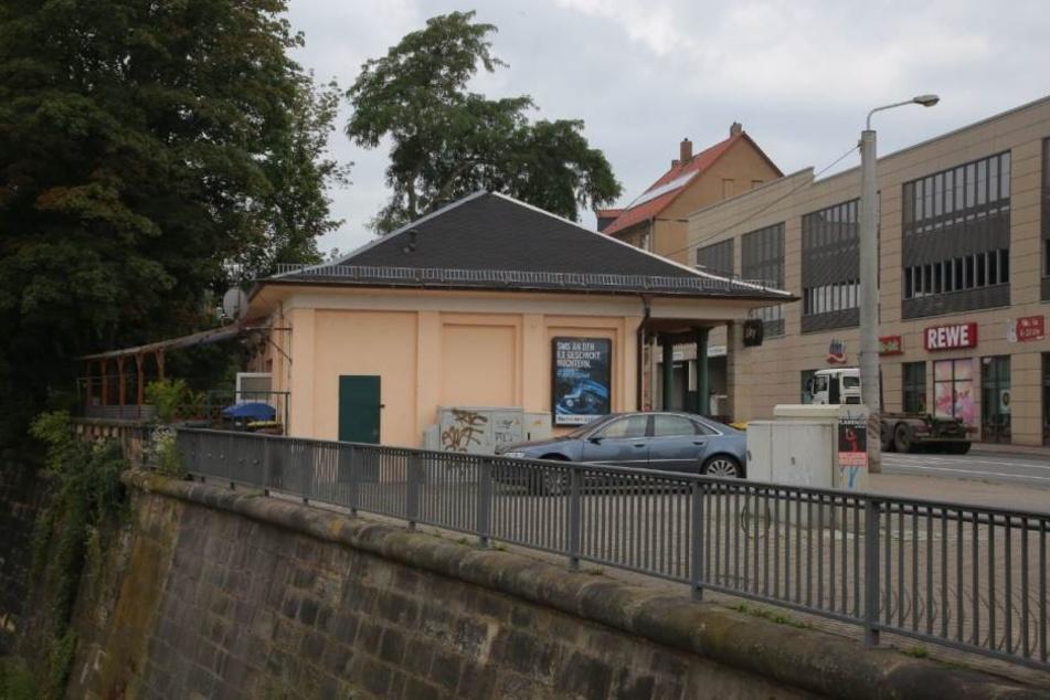 """In der Dresdner """"Huschhalle"""" wurde Dienstagnacht ein lebloser Mann gefunden."""