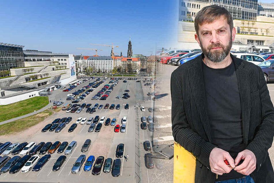 Pächter ist sauer, weil City-Parkplätze auf Ferdinandplatz verschwinden