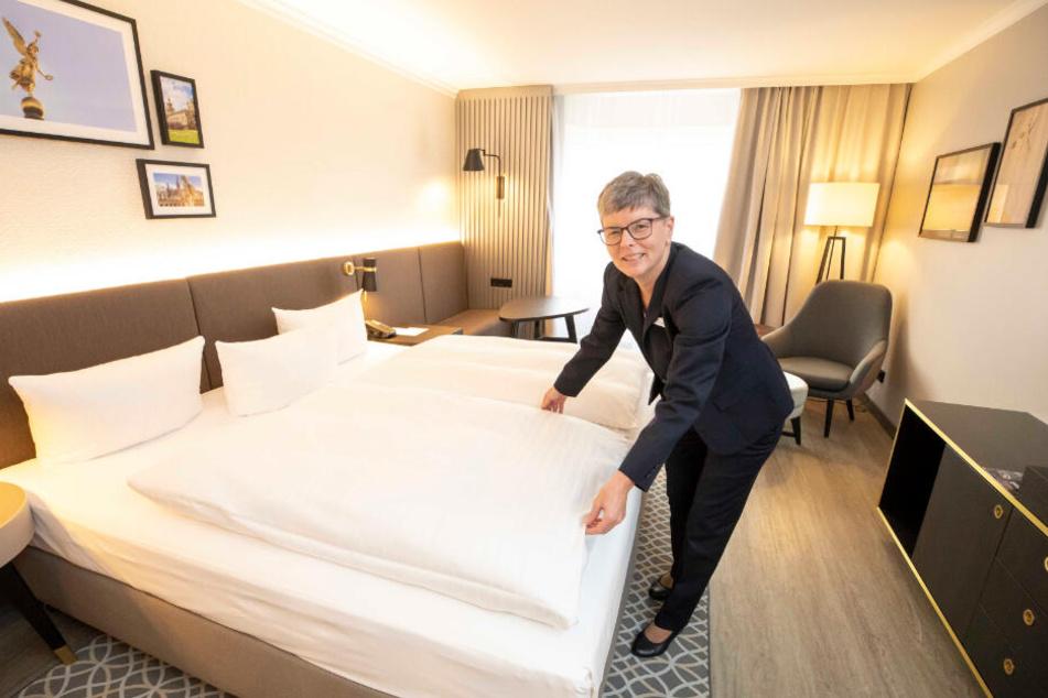 "Andrea Grunwald (49) leitet das ""Housekeeping"" im Bilderberg Bellevue."