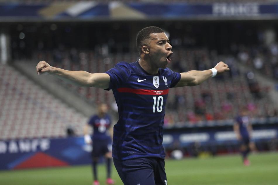 Kylian Mbappé (22) von Paris Saint-Germain will bei der EM den nächsten Titel.