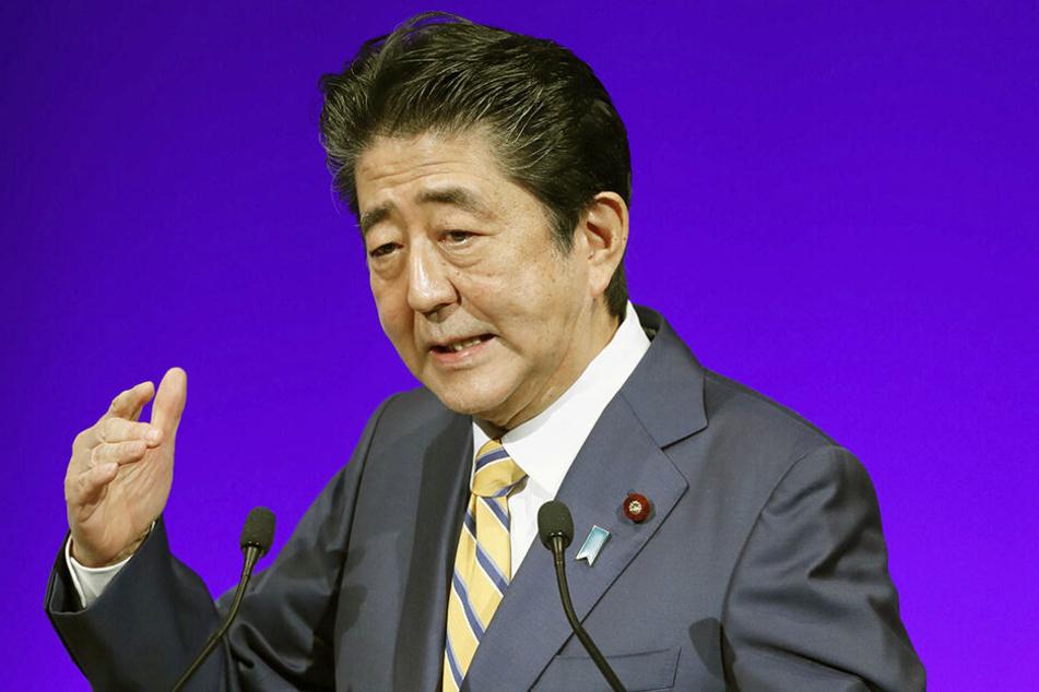 Shinzo Abe, Ministerpräsident von Japan und Vorsitzender der Liberaldemokratischen Partei, hat Trump für den Friedensnobelpreis vorgeschlagen.
