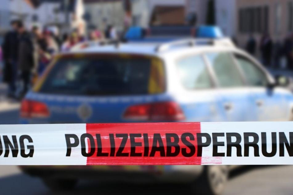 Die Polizei ermittelt vor Ort.