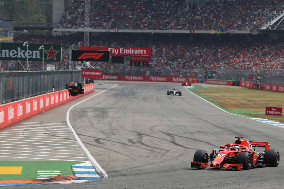 Der Grand Prix von Deutschland im vergangenen Juli in Hockenheim.