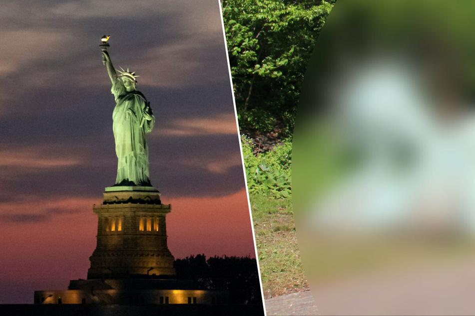 Was ist denn da los? New York hat eine zweite Freiheitsstatue!