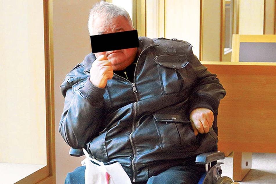 Rollstuhlfahrer Michael C. (63) nutzte seine Behinderung, um eine Schülerin zu missbrauchen.
