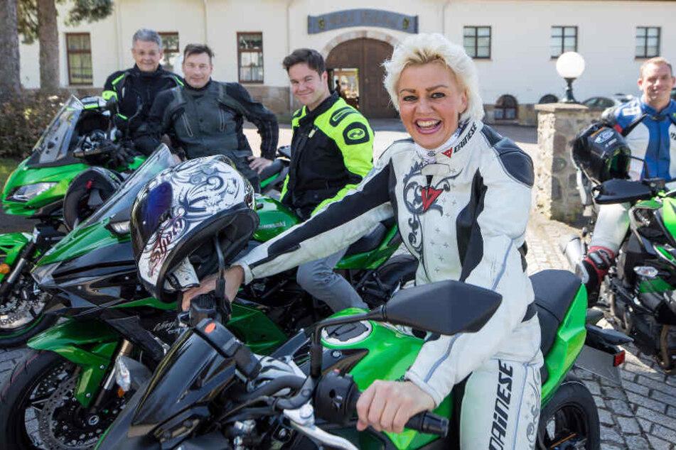 Silvana Faccin hat sich mit ihrem Hotel auf Motorradfahrer eingestellt.