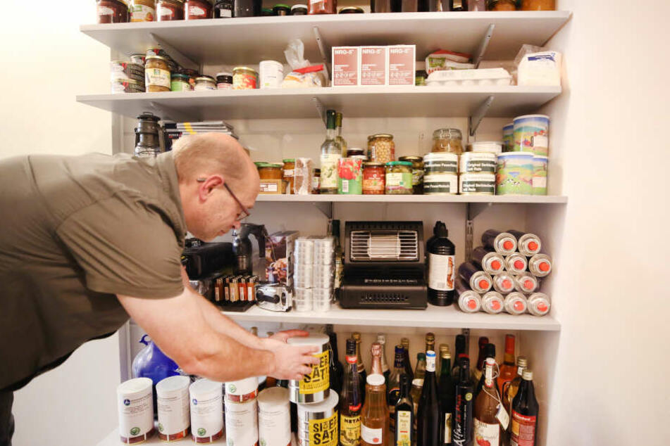 Haltbare Nahrungsmittel gehören zur Ausrüstung von Preppern.