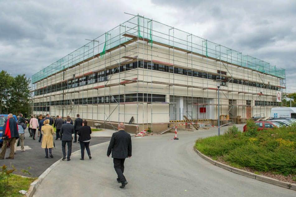 Für 28 Millionen Euro wird die Polizeifachschule in der früheren Jägerkaserne saniert und umgebaut.
