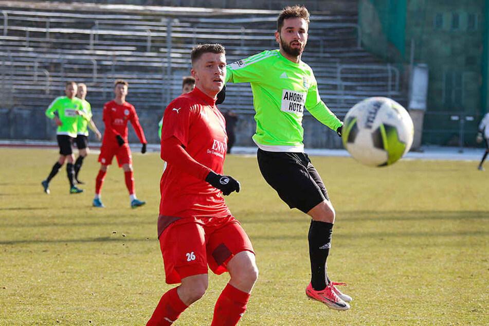 Okan Aydin (rechts) erzielte das einzige Chemnitzer Tor des Tages.