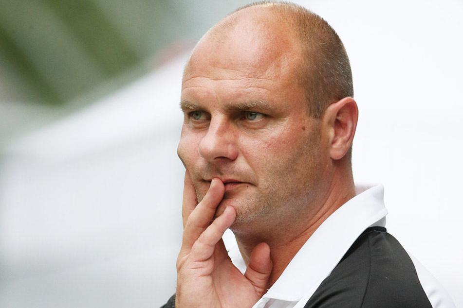 FSV-Sportdirektor David Wagner musste umplanen und bedankte sich beim FC Eilenburg fürs kurzfristige zustandegekommene Testspiel.