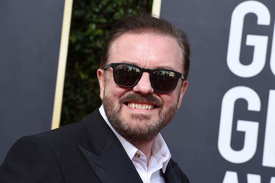 Der Komiker bewies bei den Golden Globes jede Menge Humor.