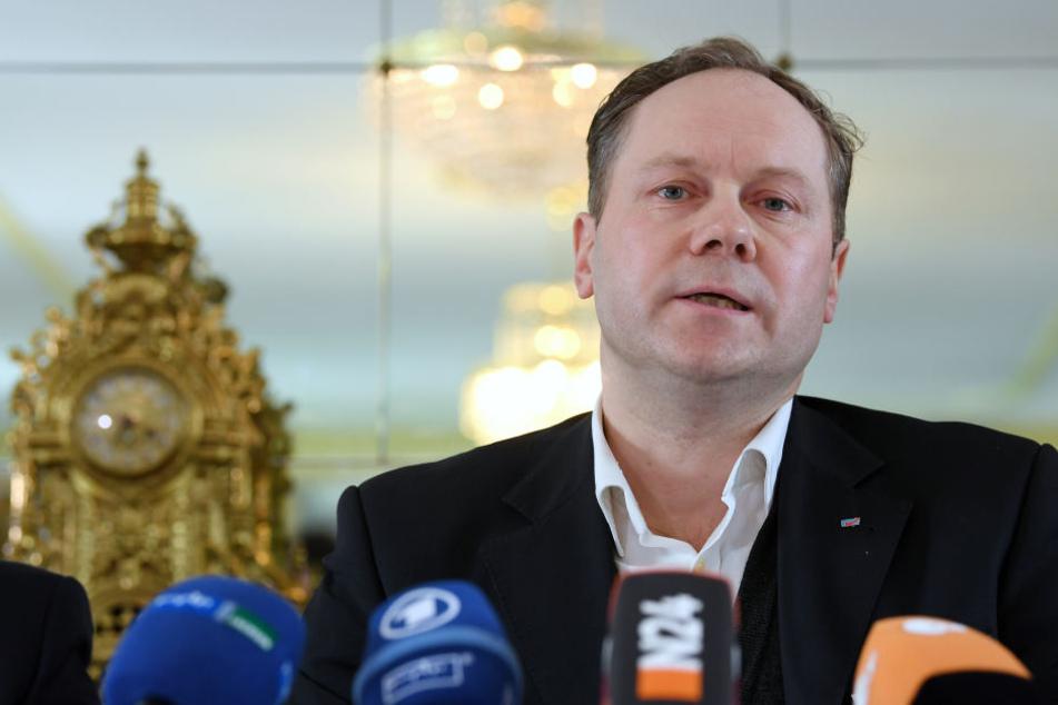 Siegbert Droese geht davon aus, dass sein Landesverband von einer Zusammenarbeit mit PEGIDA profitiert.