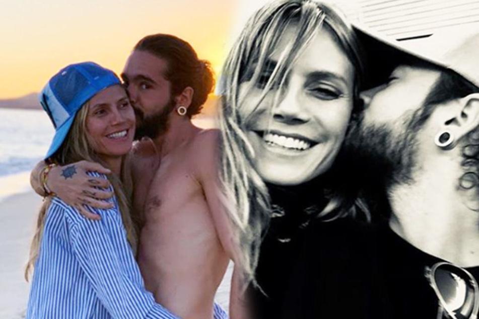 Heidi Klum (45) zeigt auf Instagram in aller Regelmäßigkeit glückliche Pärchen-Bilder mit Tom Kaulitz (29).