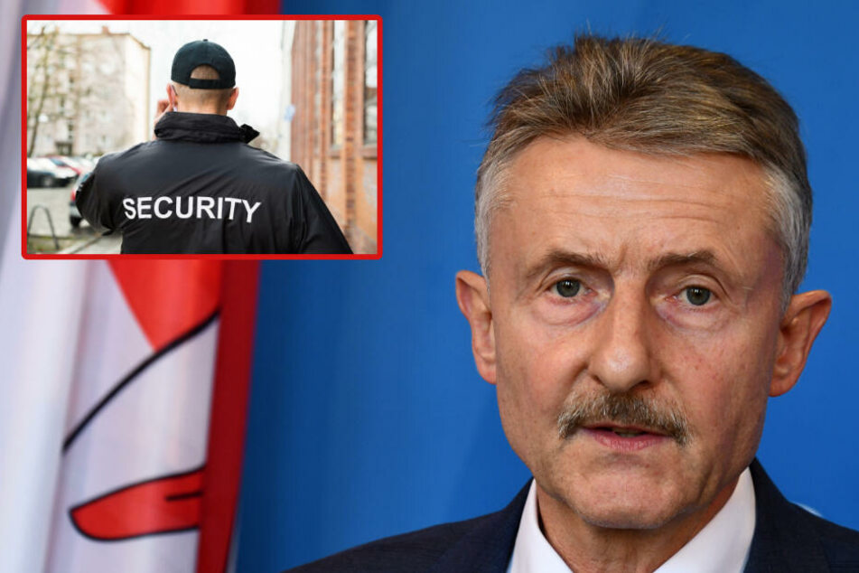 Innenmisister Schröter: Hartes Vorgehen gegen mutmaßlich rechtsextremen Sicherheitsdienst!