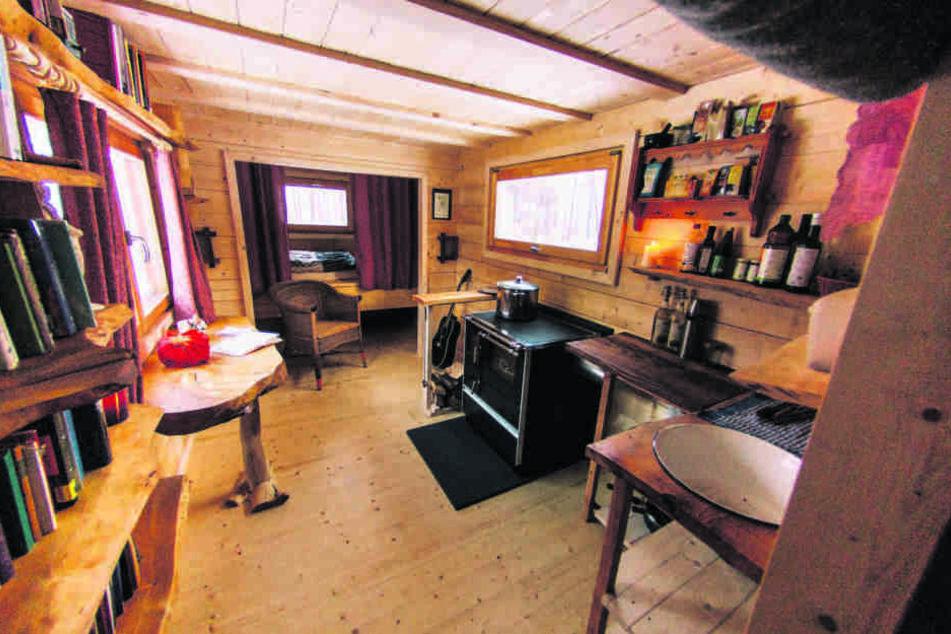 Hier passt alles rein, was man zum Leben braucht: Ein Tiny House samt Einrichtung kostet bei Philipp Siegler rund 50.000 Euro.
