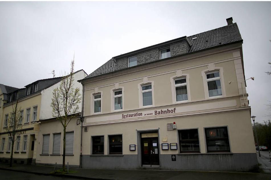 """Das Hotel """"Zum Bahnhof""""  der CDU-Politikerin Andrea Horitzky wird gerade zur Unterbringung von Flüchtlingen genutzt."""
