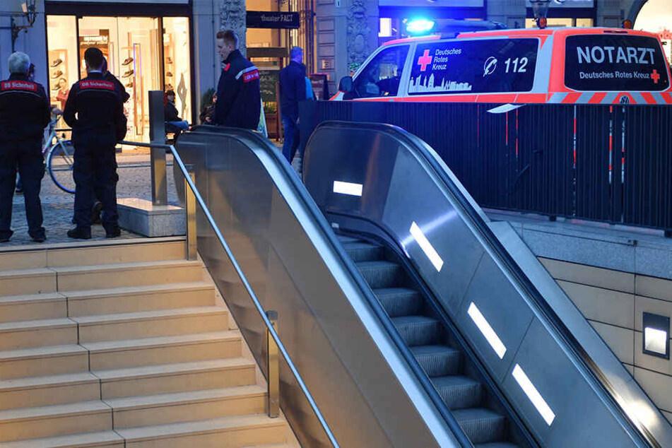 Eine Frau wurde am Dienstag in Leipzig von einer S-Bahn überfahren.
