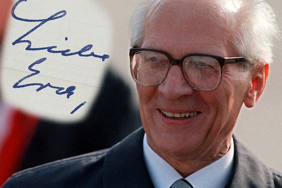 """Briefe enthüllen Honeckers Liaison mit einer """"Klassenfeindin"""""""