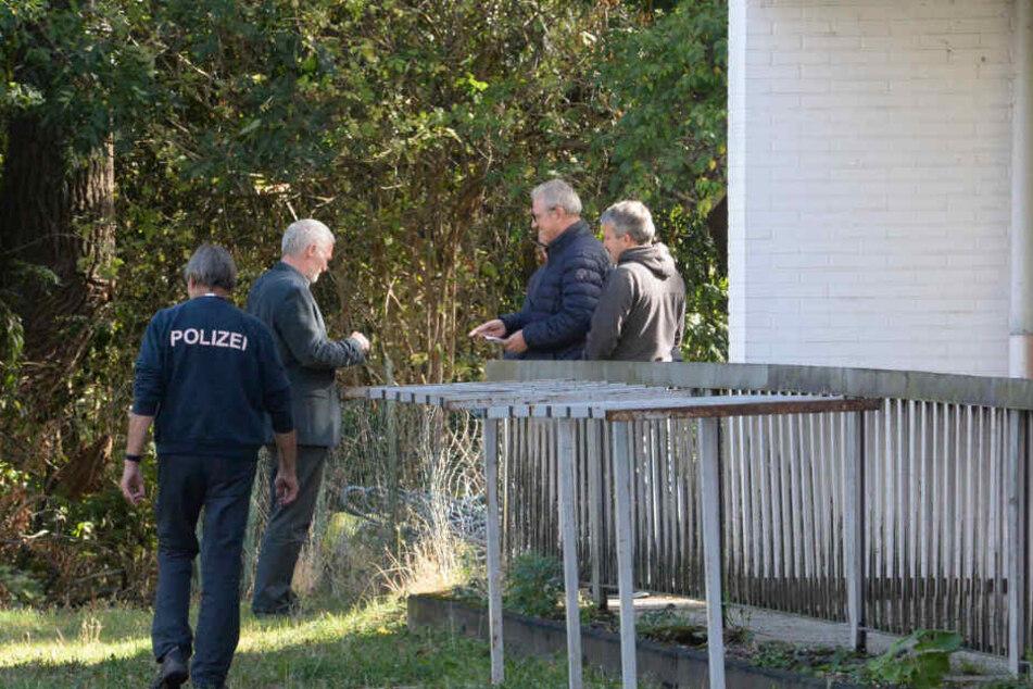 Die Polizei führte Ermittlungen durch.