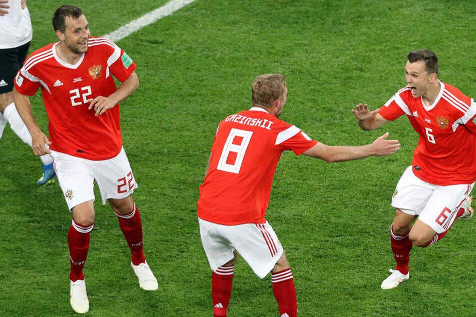 Gastgeber Russland marschiert souverän durchs WM-Turnier