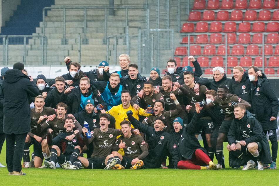 Der FC St. Pauli hat aktuell eine Mannschaft, die bestens funktioniert.
