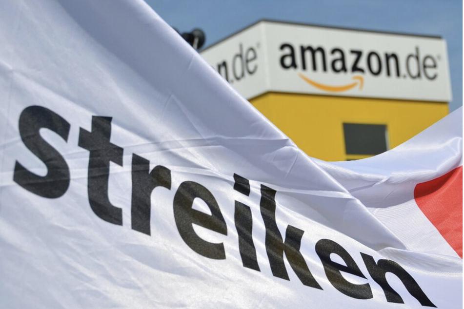 Am Dienstag hat es eine Streikkundgebung von Verdi für Mitarbeiter von Amazon gegeben - 250 Personen sollen laut der Gewerkschaft Verdi vor Ort gewesen sein.