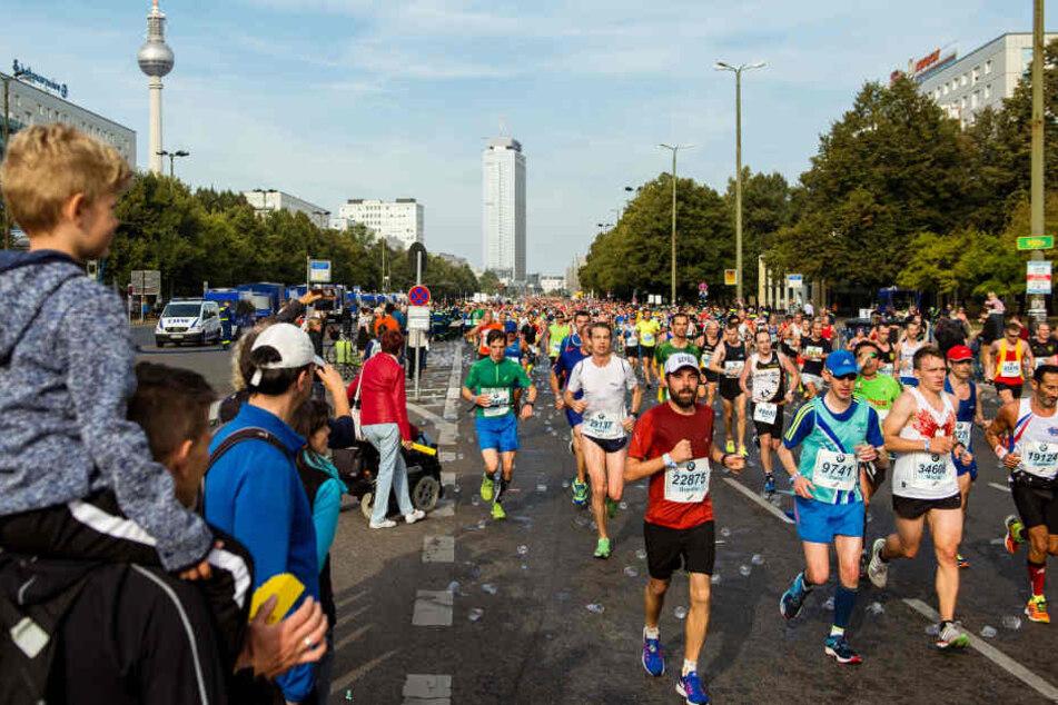 Nächsten Sonntag sind Marathon und Bundestagswahl zugleich. Das führt zu Behinderungen.
