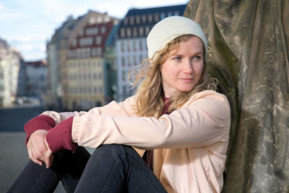 Die Dresdner Schauspielerin Cornelia Gröschel drehte erstmals in ihrer Heimat für den Tatort.