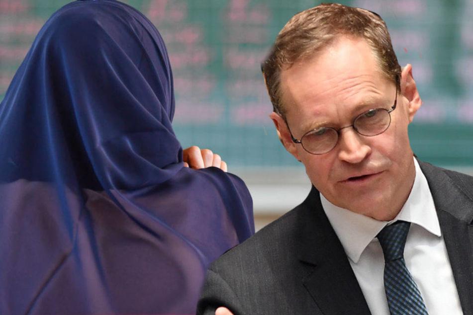Berlins Bürgermeister Michael Müller will am Neutralitätsgesetz festhalten.