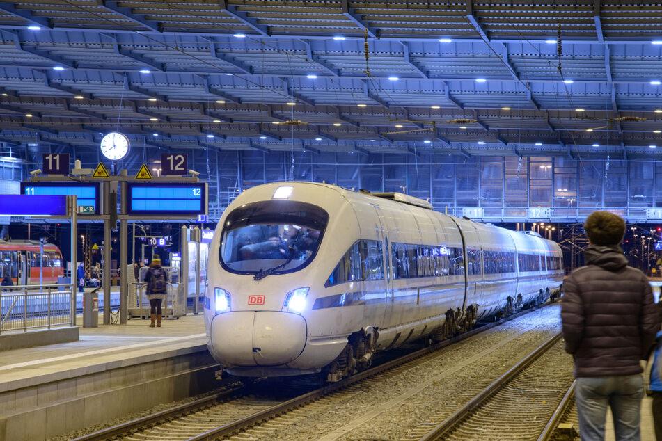 Eine neue Bahninitiative will heute ihre Pläne für Fernbahnen ab/bis Chemnitz vorstellen.