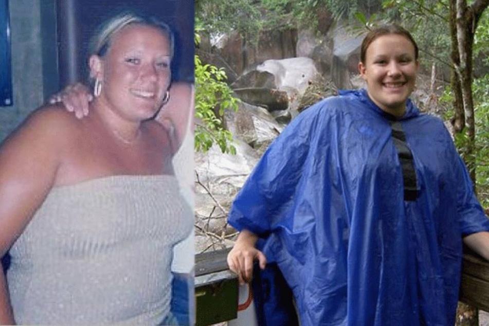 Natalie Hogg (36) vor ihrer Diät.