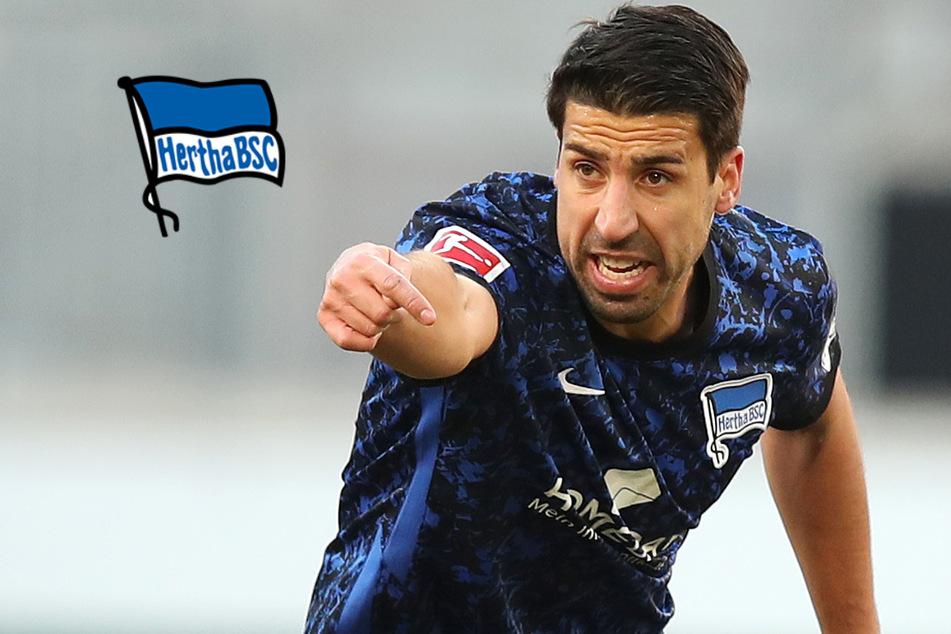 Gegen RB Leipzig: Feiert Herthas Sami Khedira sein Startelf-Debüt?