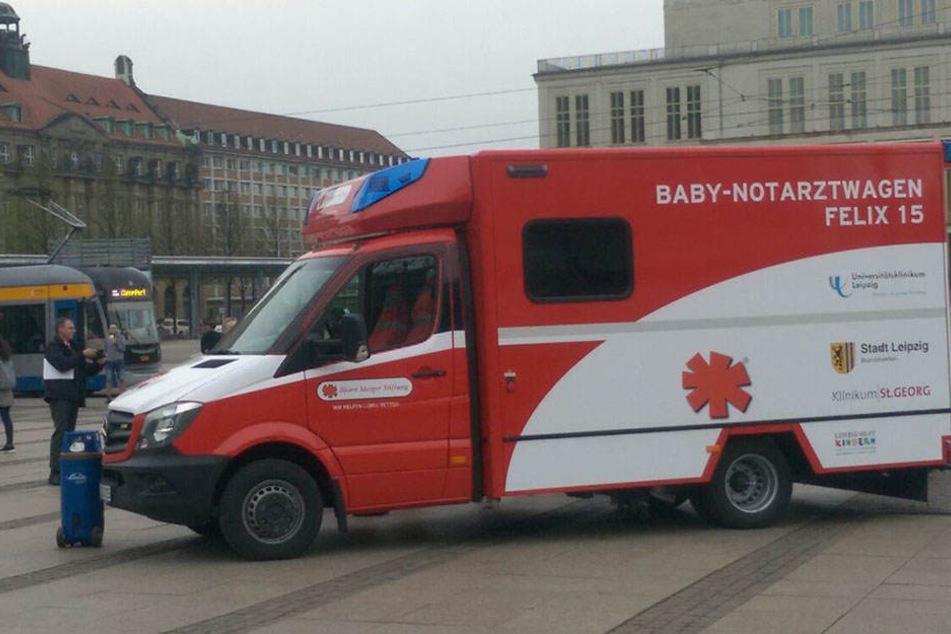 """Insgesamt zu 181 Einsätze rückte der Baby-Krankenwagen """"Felix"""" schon aus seit letztem Jahr."""