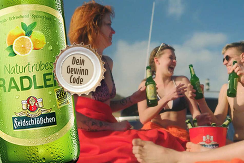 Feldschlößchen schickt Dich und Deine Freunde in den Urlaub!