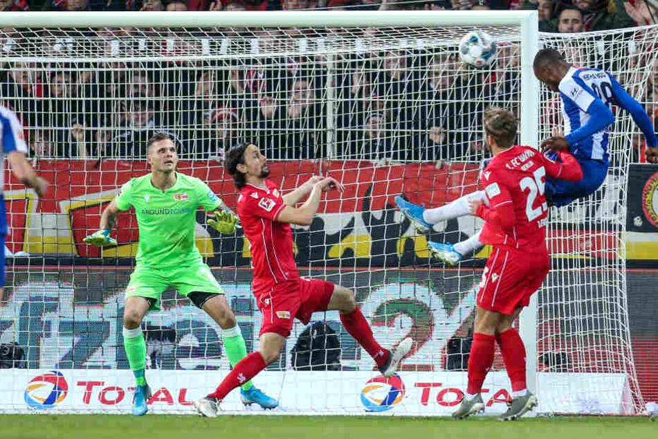 Die Hertha konnte in Halbzeit eins nicht überzeugen und war den Eisernen unterlegen.